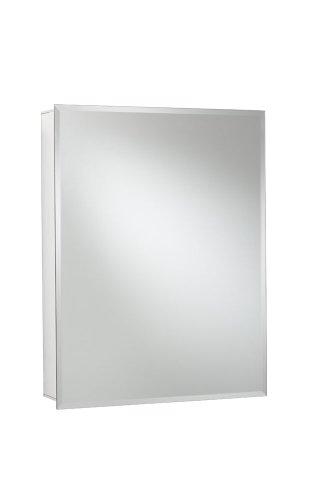 Croydex WC101469 Aluminiumschrank mit 1Tür, 61x76cm