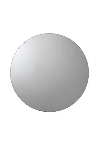 Croydex Severn Badezimmer-Hängeschrank aus Edelstahl mit rundem Spiegel