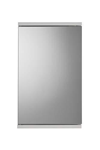 Croydex Spiegel-Eckschrank mit Tür, MDF, FSC-Zertifiziert, weiß