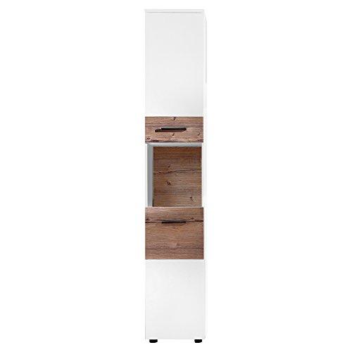 trendteam Badezimmer Spiegelschrank Spiegel Summer, 70 x 78 x 15 cm in Korpus Weiß Melamin ohne Beleuchtung