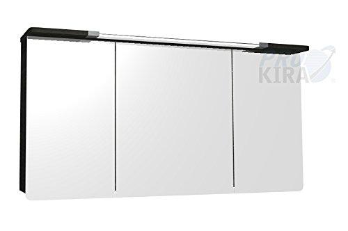 PELIPAL Cassca Spiegelschrank inkl. Beleuchtung/CS-SPS 03 / Comfort N/B: 140 cm