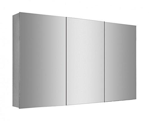 Spiegelschrank Multy BS120 mit Innenverspiegelung - Breite 120cm