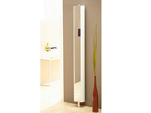 jan kurtz, 360° Multi Tube Regal, h190x b21 x t20cm, Weiss, Badezimmer, Flur, Garderobe, Büro