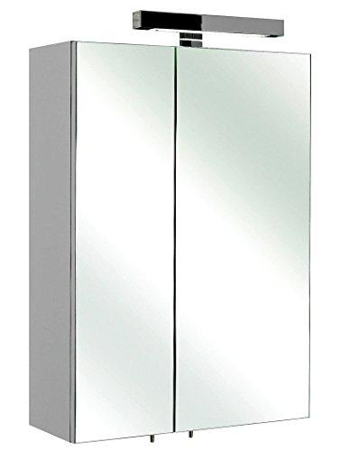 Spiegelschrank Rio weiß hochglanz 50x70 cm