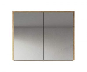 Spiegelschrank in 5 verschiedenen breiten Bolina weiss inkl breite 60cm Beleuchtung-Steckdose