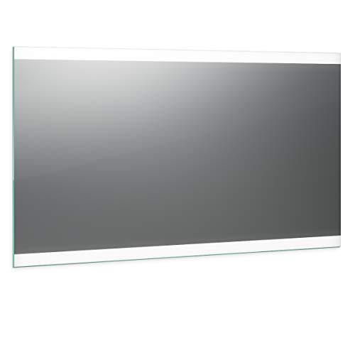 Spiegel ID Noemi 2020 Design: LED BADSPIEGEL mit Beleuchtung - Made in Germany - individuell nach Maß - Auswahl: (Breite) 120 cm x (Höhe) 60 cm