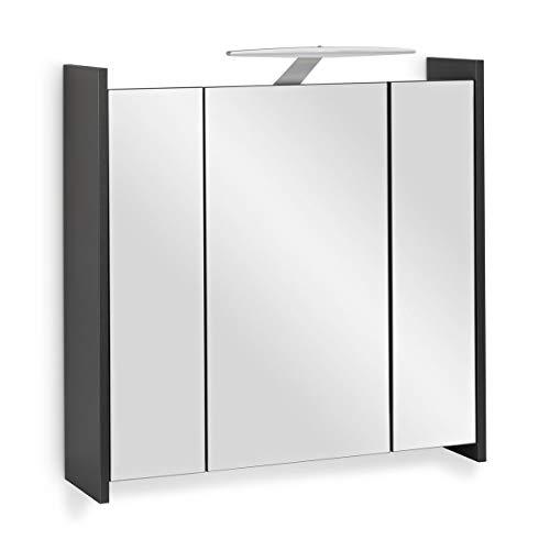 Spiegelschrank Anthrazit Anschauen Dunkelgraue Spiegelschränke