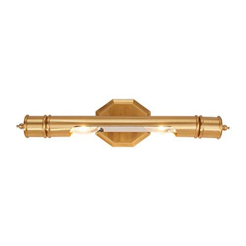 Spiegel-Scheinwerfer im Amerikanischen Stil LED-Scheinwerfer im europäischen Stil Feuchtraum-Badezimmer Rustikale Retro-Spiegelschrank Küche Wandleuchten (Size : W 45*h 12 cm)