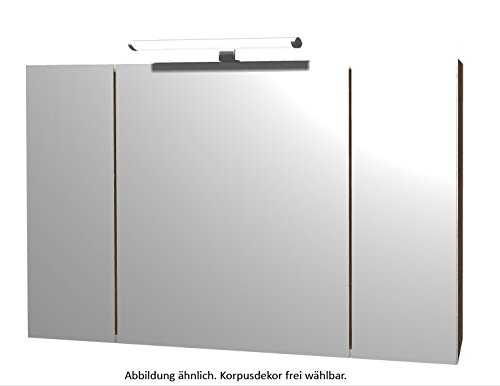 PELIPAL Solitaire 6110 Spiegelschrank/SPS 03 / Comfort F/B: 110 cm