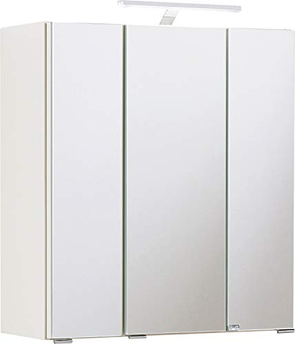 Held Möbel Spiegelschrank, weiß, 60 x 66 x 20 cm