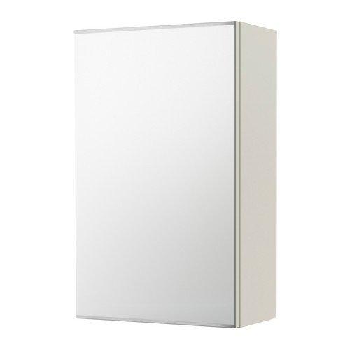 IKEA LILLANGEN -Spiegelschrank mit 1 Tür weiß - 40x21x64 cm