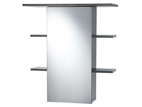 LIVARNO LIVING Spiegelschrank Mit 1 Tür und 4 Ablagen ca. B 65 x H 73 x T 29 cm