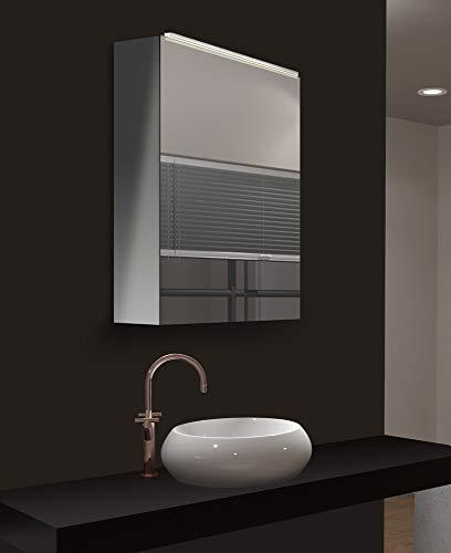 Talos Mirage LED Spiegelschrank- Lichtfarbe 4200K - Aluminiumkorpus - 50x 60 cm