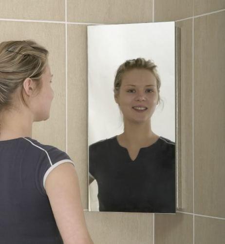 Generic Badezimmer Eck-Unterschrank Edelstahl Spiegel Gorgeous 600* 300< 1& 2985* 1>