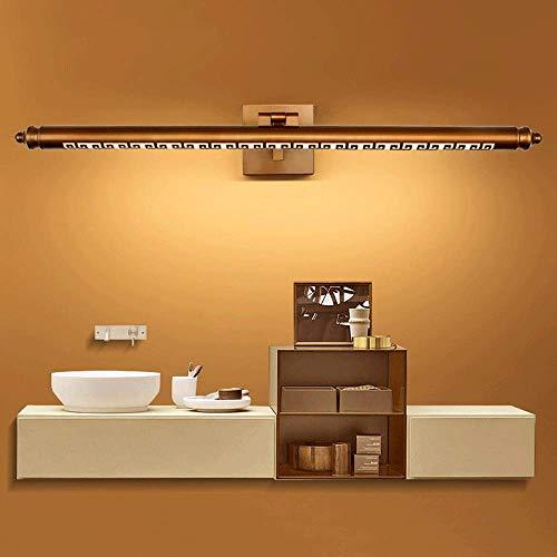 BABYCOW 8W LED Kosmetikleuchten, Vintage Spiegelschrank Lampe, rustikale drehbare Badezimmer Eitelkeit Leuchten für Hotel Waschraum Schlafzimmer Ankleidezimmer, Bad Kosmetikspiegel Lampen (Farb