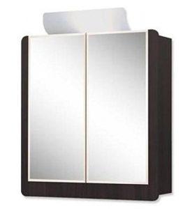 Zweitürige Spiegelschrank