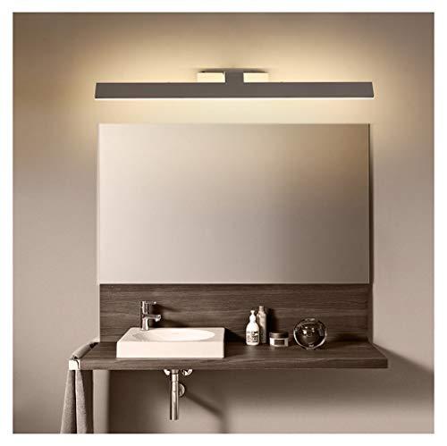 PANGU-ZC LED Spiegel Scheinwerfer Badezimmer Schminktisch Wandleuchte Einfache Moderne Spiegel Lampe Bad Wasserdicht Anti-Fog Spiegel Schrank Speziallampen (größe : 55cm)