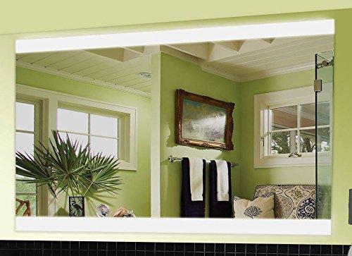 Wien Spiegel mit LED Beleuchtung Badspiegel - 130 cm x 65 cm - Zimmer Spiegel Beleuchtet
